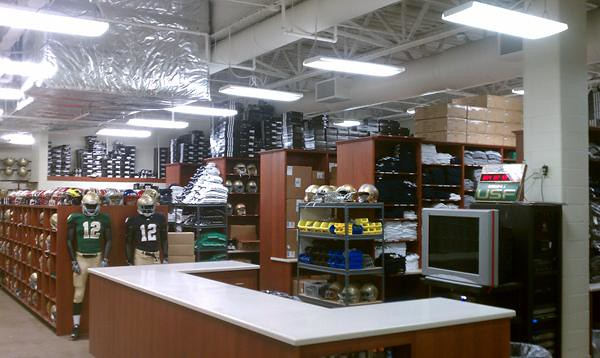 Anyone Ever Wonder What Notre Dames Equipment Room