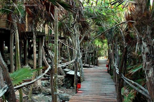 Pathway at Azulik Villas, Mexico