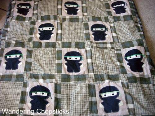The Middle '87's Ninja Quilt 1