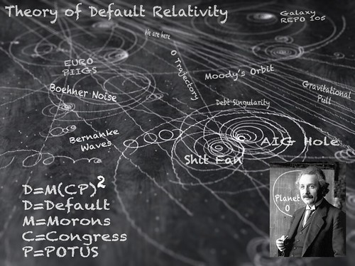 THEORY OF DEFAULT RELATIVITY by Colonel Flick