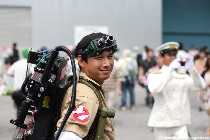 Wonfes Summer 2011 - Ghostbuster