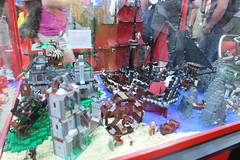 Pirates of the Caribbean Display Case - LEGO Booth at Comic Con - 5