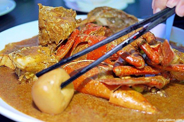 chilli crabs