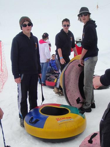 Snow Tubing at Jungfrau