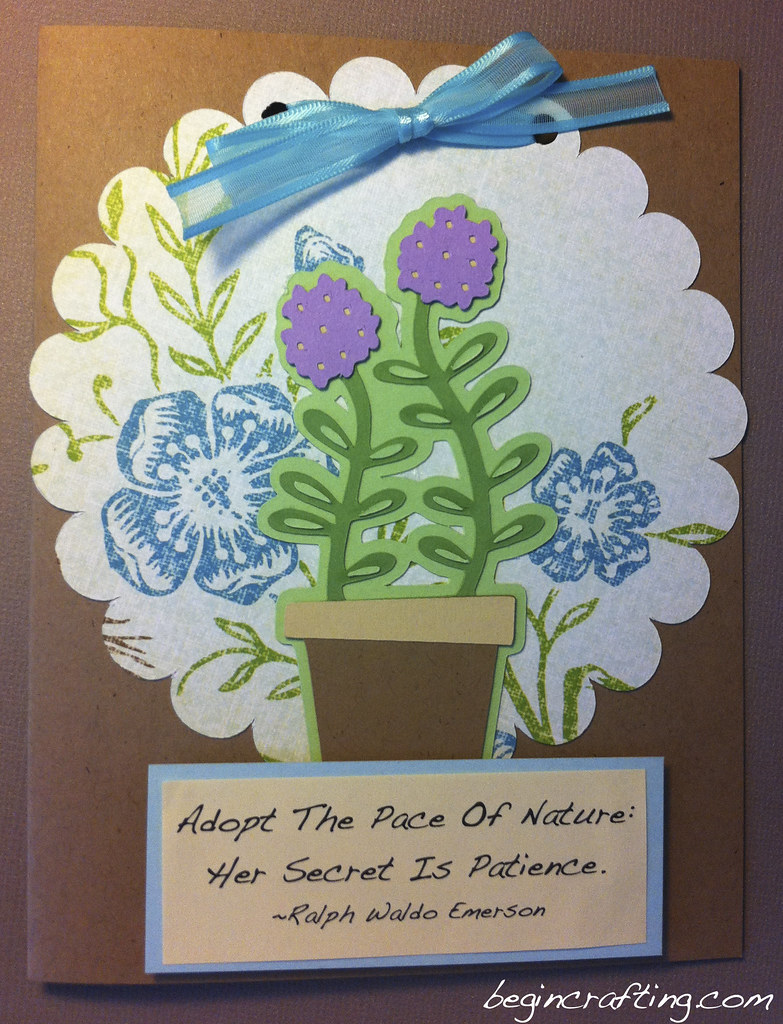 Handmade Nature Card