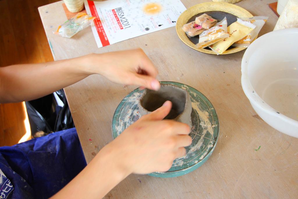 Pottery Artist Junko Yamamoto data collection (1)