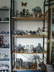 Lego Star Wars collection (part 2) 01 Aug. 2011 (Jeroen_K) Tags: starwars lego collection legostarwars 2012 2010 2011