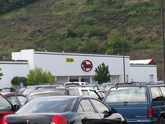 Roses; former Montgomery Ward, Hills, Ames, Steve & Barry's and Carolina Pottery (Mercer Mall) (Joe Architect) Tags: roses retail mall favorites hills wv departmentstore westvirginia princeton wards montgomeryward yourfavorites 2011 bluefield discountstore steveandbarrys mercermall carolinapottery