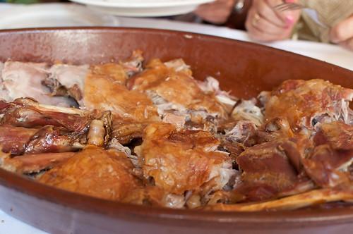 Comer en el Restaurante Colorines de Canencia