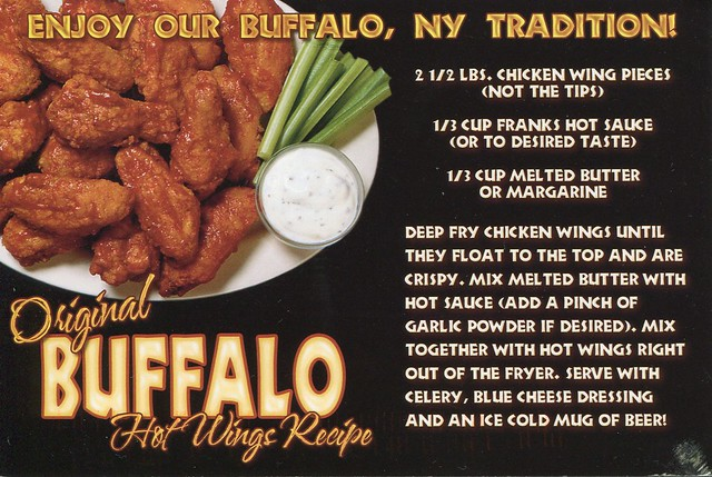 Enjoy our Buffalo, New York tradition!