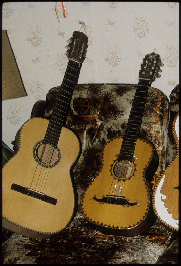 Guitars Made by Jose Rojas, Toppenish
