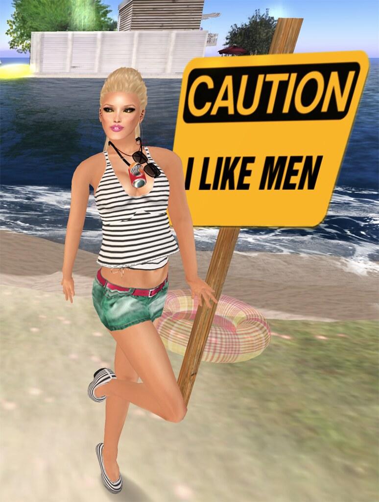 Koketka - Summer outfit  + MINA Hair - Doortje - LB04