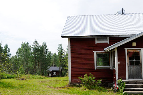 The cottage and the sauna