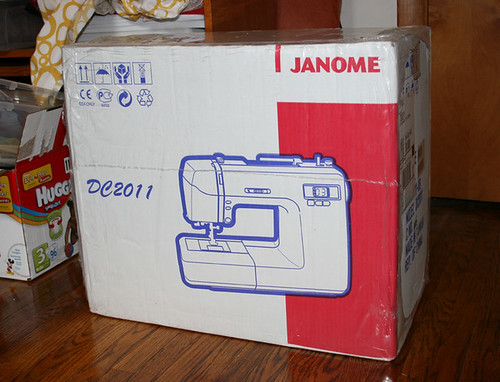 new janome!