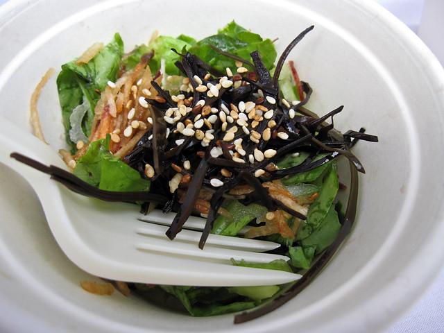 Creekbread organic salad