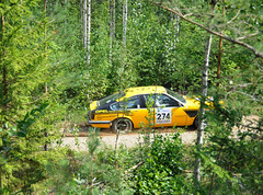 274. Jari Hmlinen and Tero Mki, Opel Monza A (smerikal) Tags: summer car race rally racing historic lahti em opel monza hassi a