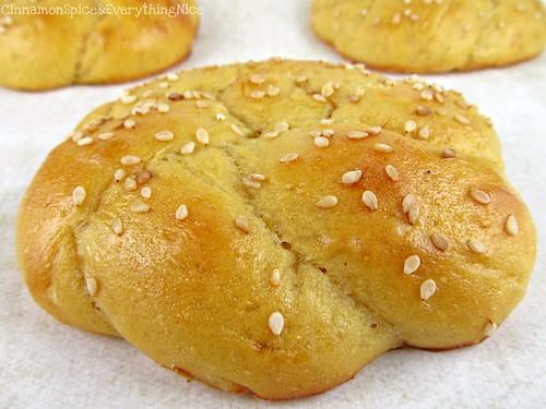 Sweet Potato Kaiser Rolls