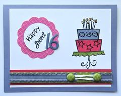 Happy Sweet 16 (corgidusty) Tags: birthdaycake sweet16 studiocalico bakemeacake lawnfawn