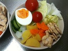 朝食サラダ(2011/8/3)