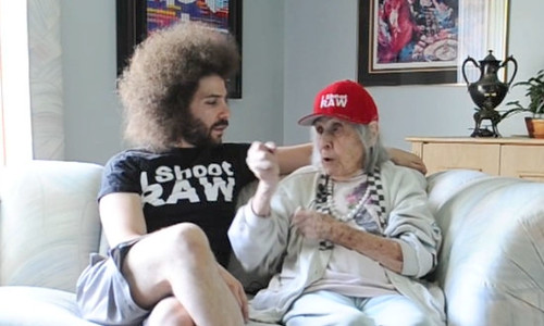 6008066619 06eab6c09a The Fro and His Grandma Lil #63   THUG LIFE