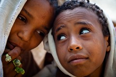 portrait of two children with big intense eyes-monastery lake tana-ethiopia (anthony pappone photography) Tags: africa travel portrait baby barn canon pose children photography photo eyes foto child faces bambini expression retrato african picture culture portraiture childrens afrika enfants fotografia ethiopia orthodox bahirdar ritratto reportage photograher afrique barna phototravel etiopia etnic  etnico ethiopie etiope etnia laketana  etnica afryka childrentravel etiopija portraitsofchildren  etiopien etipia  etiopi eos5dmarkii  childrenbestphotos
