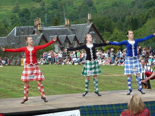 Scottish Highland Dancing at Killin Highland Games