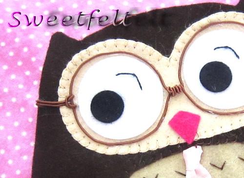 ♥♥♥ Tou de olho... by sweetfelt \ ideias em feltro