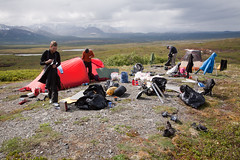 Camp on Turtle Hill (Joe Stylos) Tags: camping alaska climbing mckinley denalinationalpark turtlehill