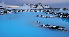 ISL-Blue Lagoon-0802-060-v1 (anthonyasael) Tags: blue mountain lake snow cold ice nature water weather rock horizontal clouds landscape volcano lava iceland europe cloudy eu lagoon steam snowcapped scandinavia volcanic europeanunion vapor bluelagoon westerneurope isl topb
