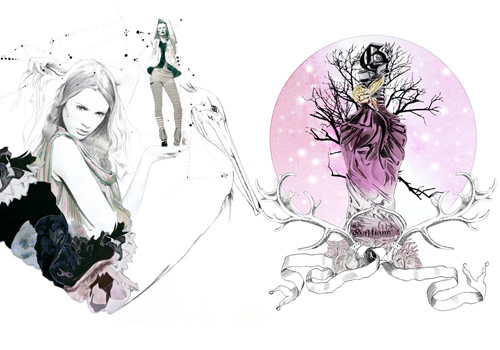6014251876 b5bb104343 30 Fashion Illustrators You Can't Miss Part 3