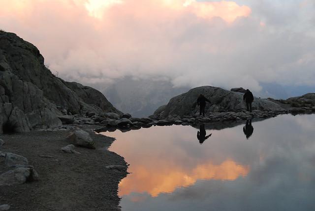 Caminado por el Lago Blanco