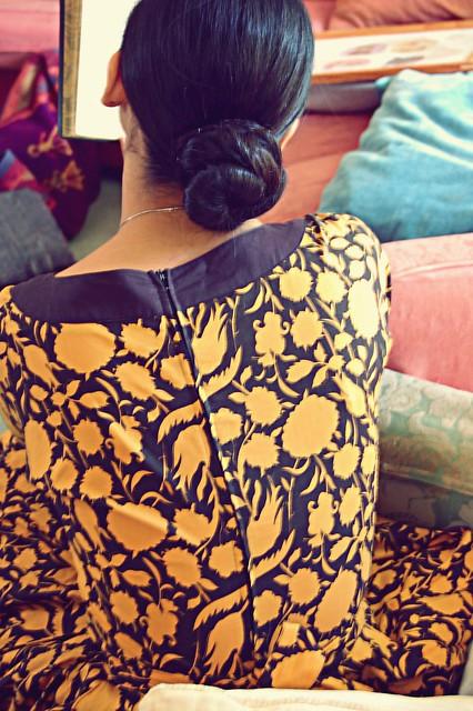 back's dress