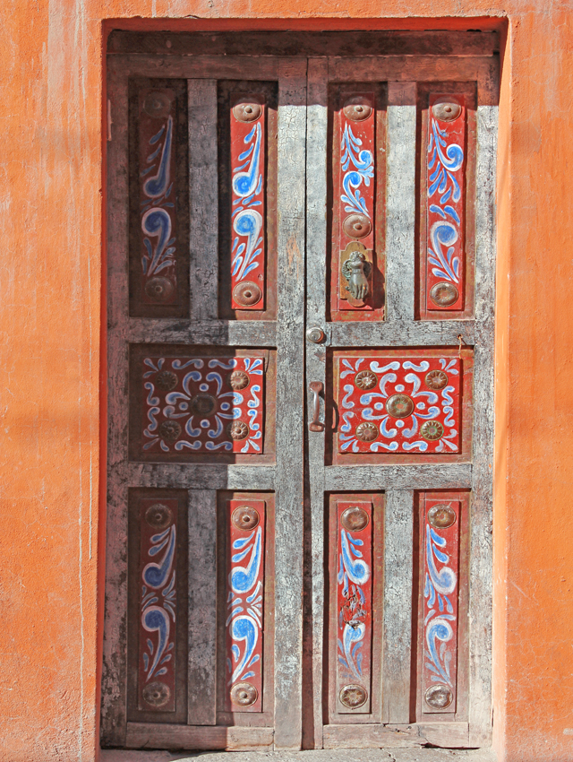 Door in San Miguel