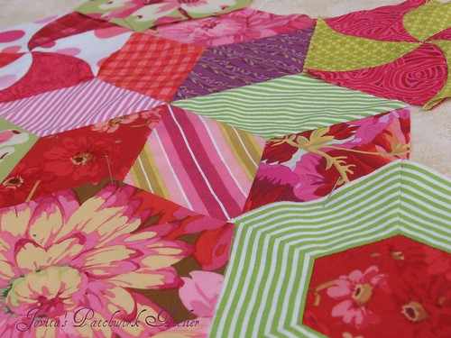 more hexies by Jovita's Patchwork Atelier