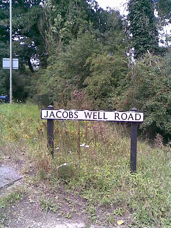 jacobs well road innit