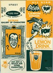 All Star Batman Lemon Drink (Nerfect.com) Tags: vintage lemon drink batman package allstart