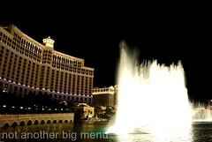 Las Vegas, Nevada - Bellagio fountains display