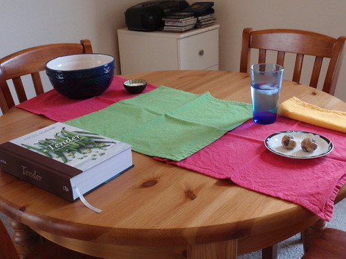Makeshift Table Runner