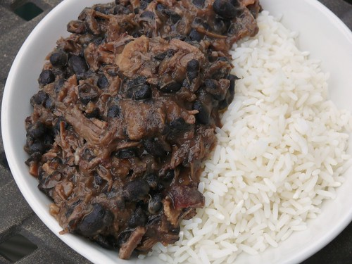 Brazilian Beef Stew (Feijoada) and Rice