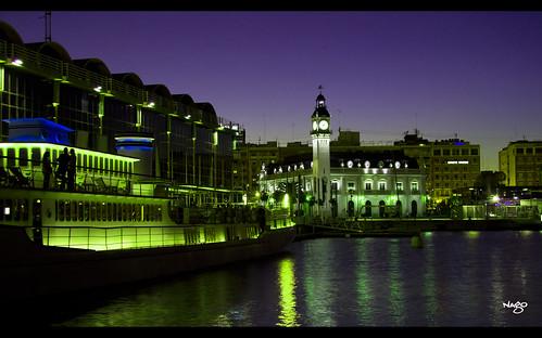 Noche en Valencia