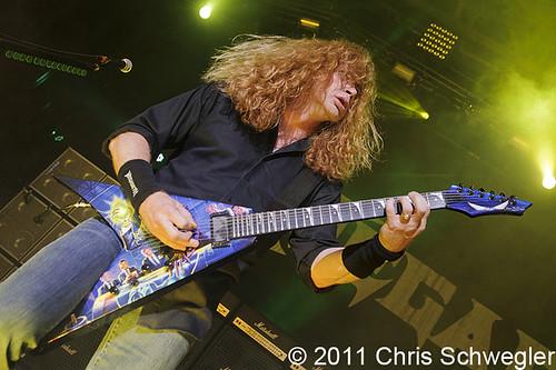 Megadeth - 08-06-11 - Rockstar Energy Mayhem Festival, DTE Energy Music Theatre, Clarkston, MI