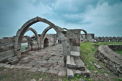 Seven Arches (7 kamaan), Champaner [Gujarat, India] (UrvishJ) Tags: pictures sculpture india heritage history stone ancient angle stock pillar wide culture images mosque carving symmetry unesco worldheritagesite online buy getty sell past archeology ultrawide masjid joshi champa gujarat kaman stockphoto jamamasjid jali vadodara pavagadh historicalcity stockimage panchmahal champaner muslimarchitecture jumma jalis urvish hillfortress muhammadabad indianphoto stockpicture indianpicture gettycontributor nikond7000 tokina1116mm28f begda champanerpavagadharchaeologicalpark urvishjoshi urvishjoshiphotography urvishjoshiphotography chavdadynasty mahmudbegda