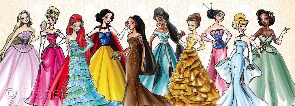 Disney Princess Designer Collection Concept Art