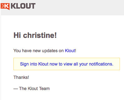 Is it safe to be on Klout?