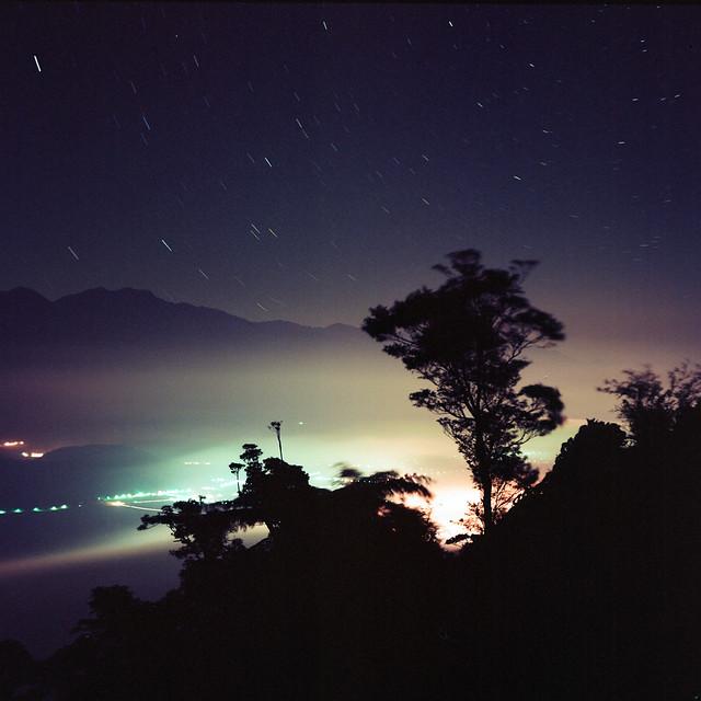 夜 花東縱谷