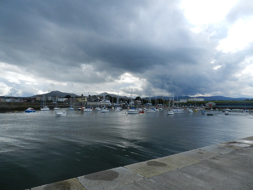 Saturday afternoon in Bray harbour