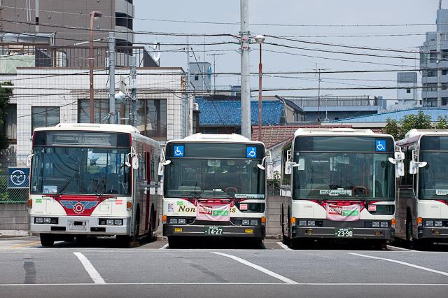関東バス C2002 川崎へ廃車回送...