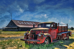 Shaniko Fire Dept - HDR