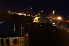 Str. Kaye E. Barker Marquette, MI (wisconsinrails) Tags: mi boat michigan ore marquette taconite interlake freighter lsi oredock kayeebarker lakessuperiorishpeming