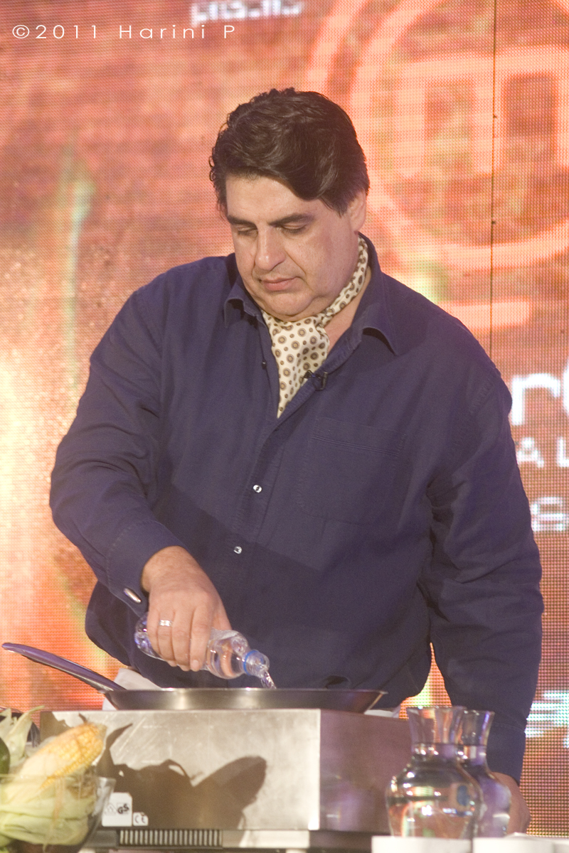 Matt Preston at a cook off